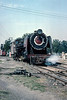 YP2252 is leaving the depot at Lucknow Charbagh to run into town for another passenger train on 21 February 1992