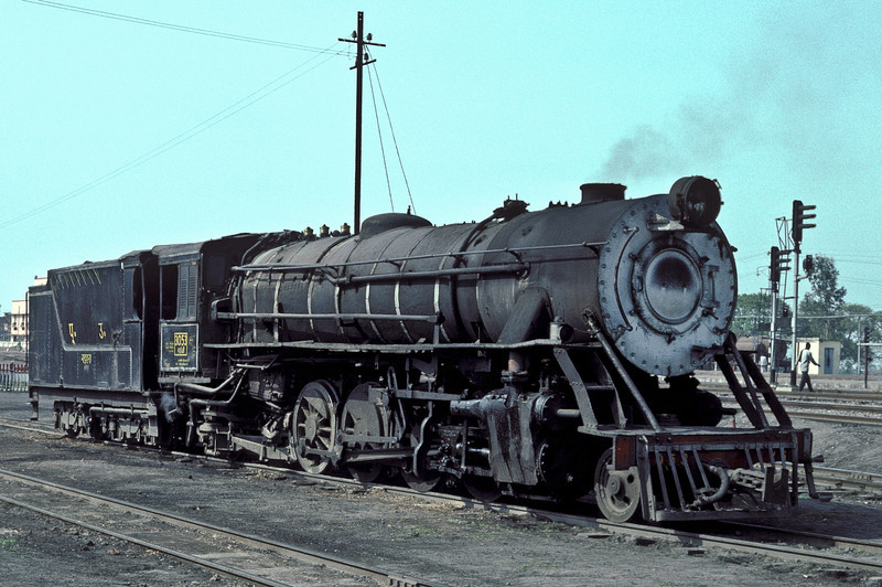 Metre Gauge YG3053 is at Sonpur depot on 22 February 1992