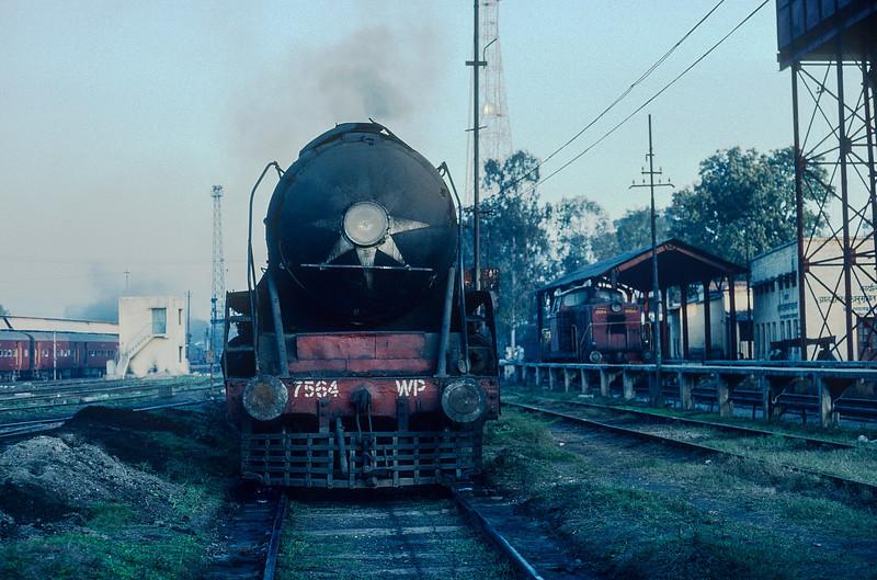 WP 7564 at Saharanpur on 17 February 1992