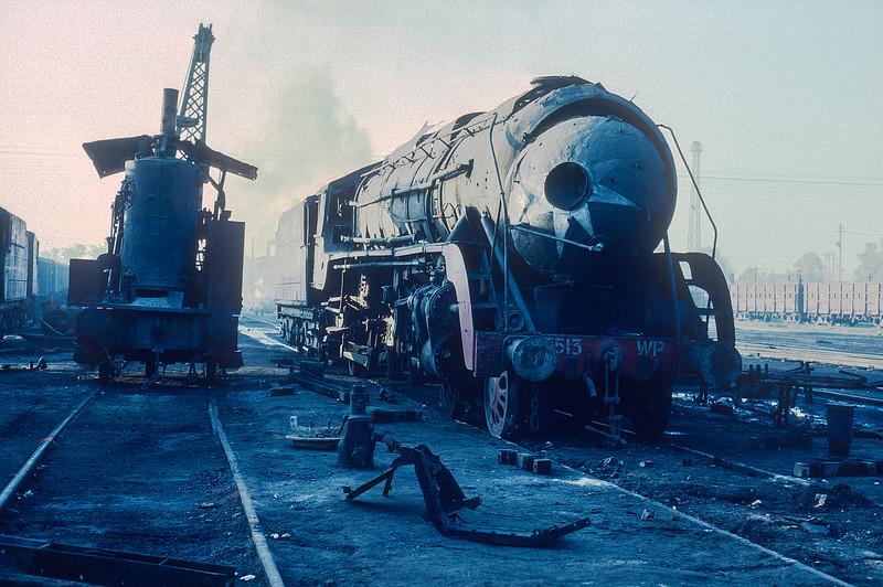 WP 7513 at Saharanpur depot on 17 February 1992