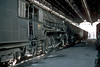 WG10480 waits its next duty alongside several sister locomotives inside the small running shed at Kota on 7 March 1992
