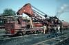 The steam breakdown crane at Mahesana depot on 4 March 1992