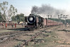 YP2317 makes a fine sight as it pullsinto the station at Mathura Junction on 9 March 1992