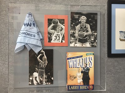 Larry Bird #33.