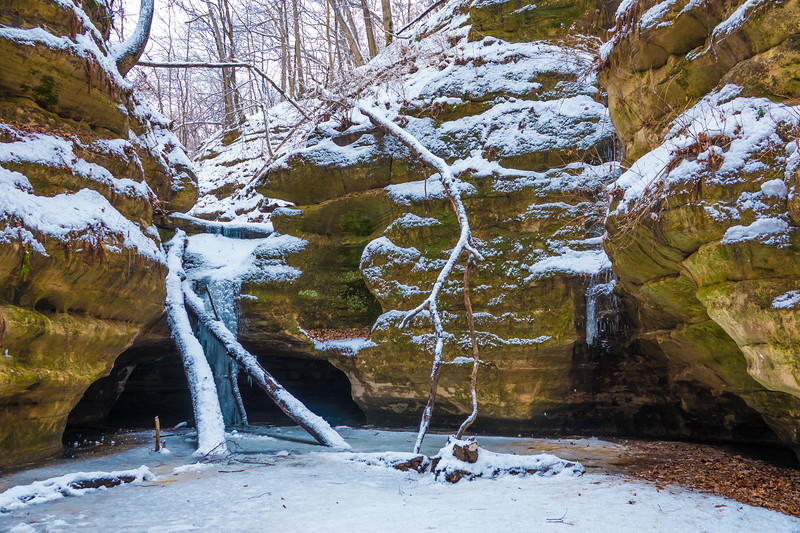 Starved Rock State Park, Kaskaskia Canyon