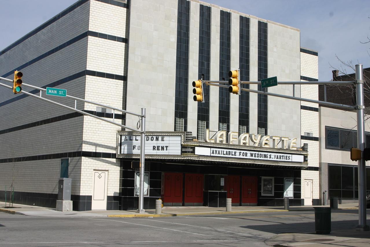 Lafayette Theatre, Lafayette, Indiana.  Photographed Feb 13, 2006.