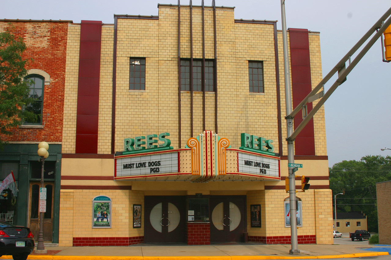 Rees Theatre, Plymouth, Indiana.