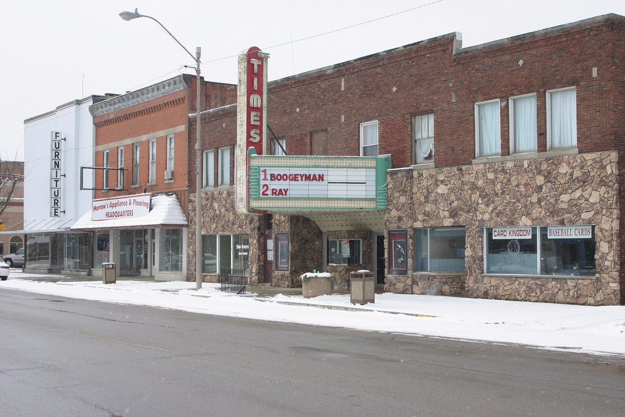 The Times Theatre, Rochester, Indiana, Feb 2005.