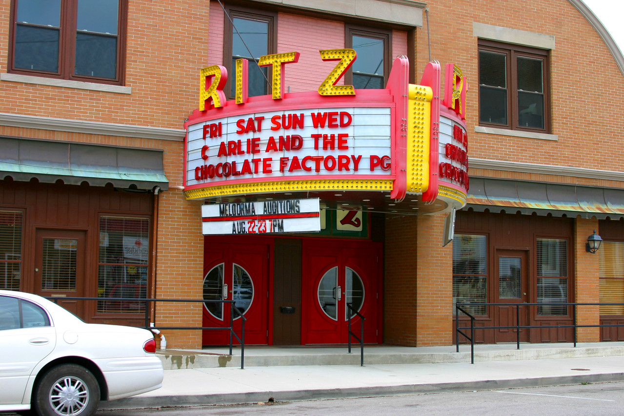 Ritz Theatre, Rockville, Indiana, August 19, 2005.