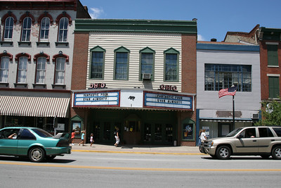 The Ohio Theatre, Madison, Indiana, July 2007.