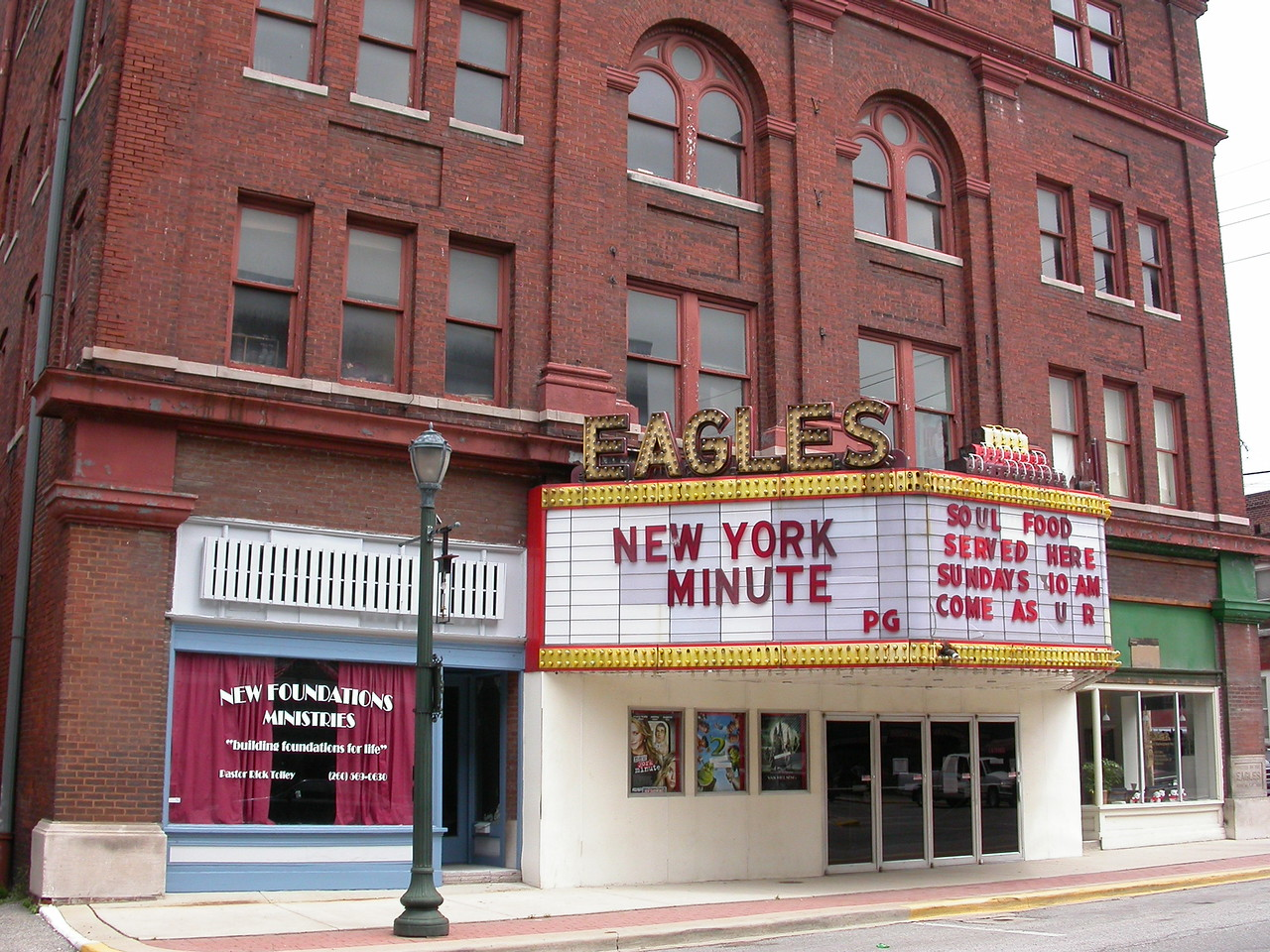 Eagles Theatre in Wabash, Indiana.