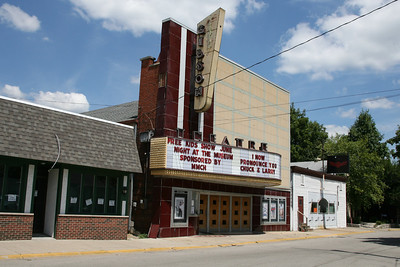 Gibson Theatre, Batesville, Indiana, July 2007.