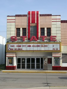 State Theatre in Logansport, Indiana.