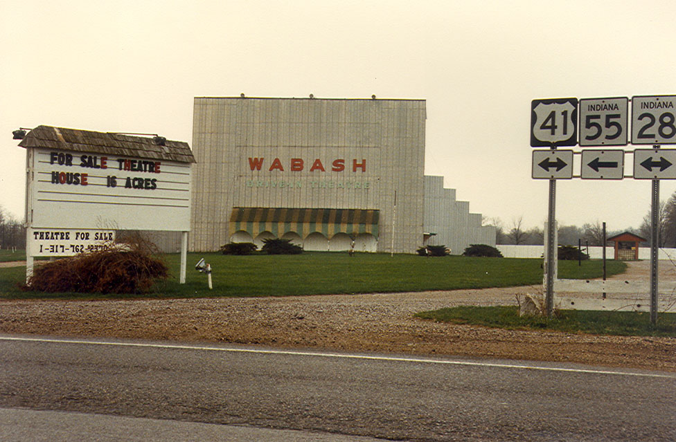 Wabash Theatre photographed early 1980's
