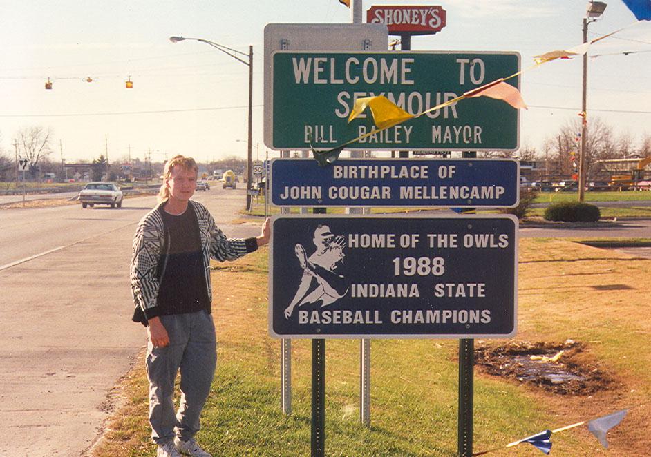 Seymour, Indiana, 1987.