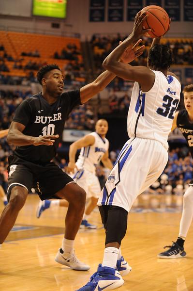 Indiana State vs Butler 12/7/16