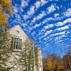 Indiana University - Woodburn Hall on a Sunny Fall Day
