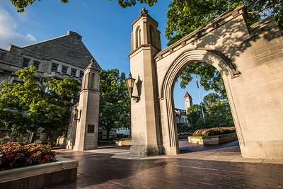 Indiana University Sample Gates Summer Flowers