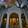 Rose Well House at Indiana University - Fall Evening