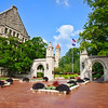Sample Gates at Indiana University on a Summer Day