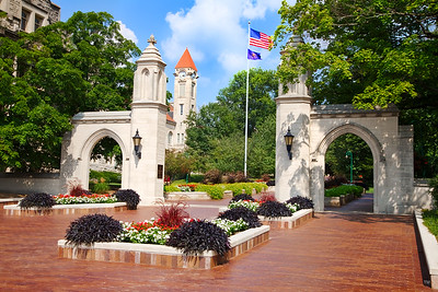 Indiana University Sample Gates Summer Day