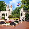 Indiana University Sample Gates Summer Day