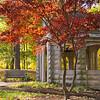 Rose Well House Indiana University Fall Scene