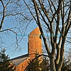 "Church steeple rising into a bright blue sky with the bare trunks and limbs of a tree in the foreground.<br /> <br /> bluemoon1236, smugmug <a href=""http://bluemoon1236.smugmug.com"">http://bluemoon1236.smugmug.com</a> ,Bluemoon Fine Photography"