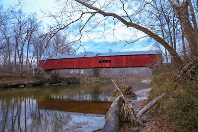Cox Ford Covered Bridge