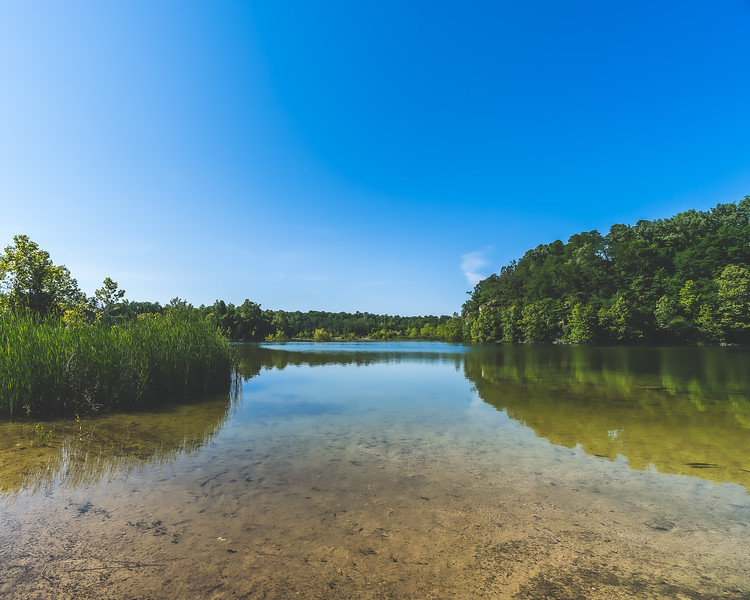 Depauw Nature Park in Greenecastle Indiana
