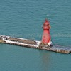 Gary Harbor Breakwater Lighthouse