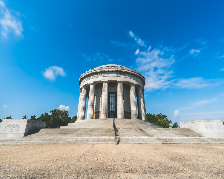 George Rogers Clark National Historical Park in Vincennes Indiana