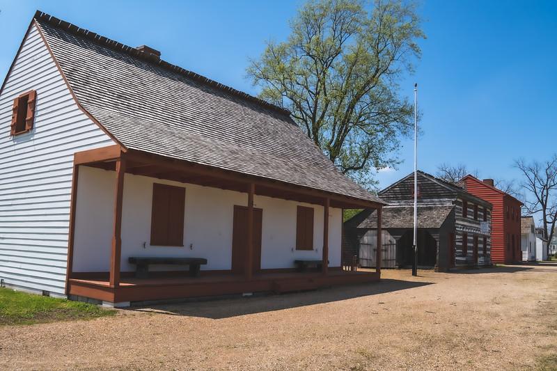 Vincennes State Historic Site in Vincennes Indiana