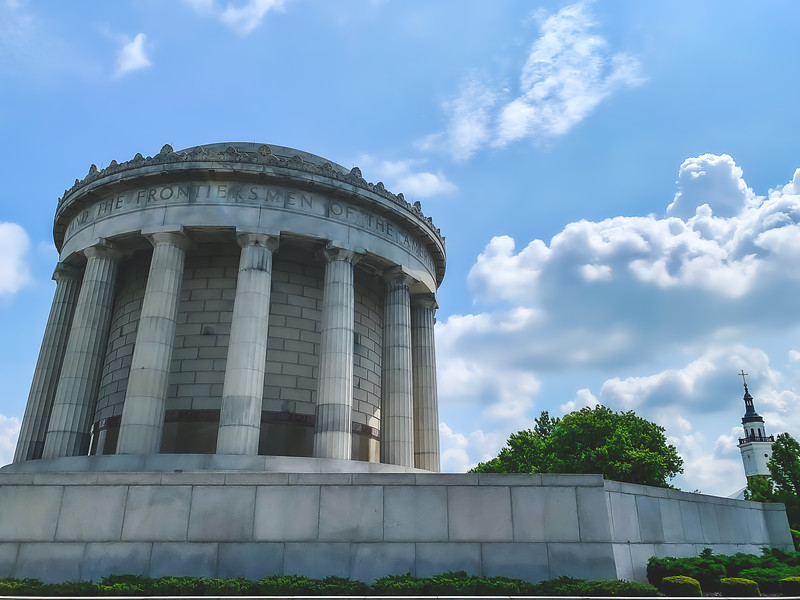 George Rogers Clark National Historic Parki n Vincennes Indiana