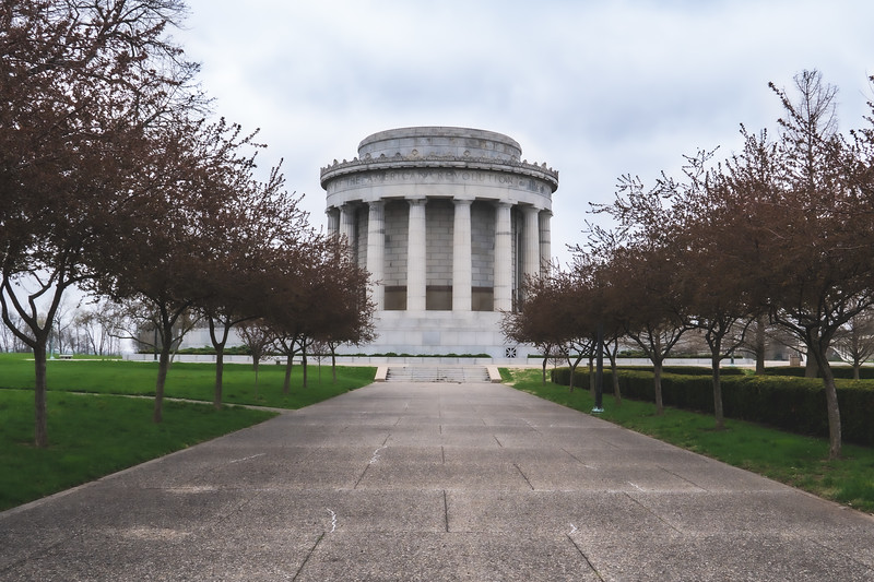 George Rogers Clark National Historic Park in Vincennes Indiana