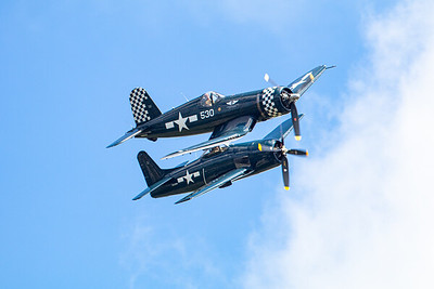 Corsair and Grumman Bearcat