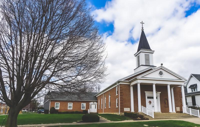 Salem United Methodist Church in Salem Indiana