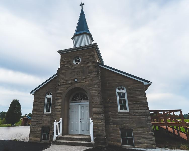 Wickliffe United Methodist Church in Eckerty Indiana