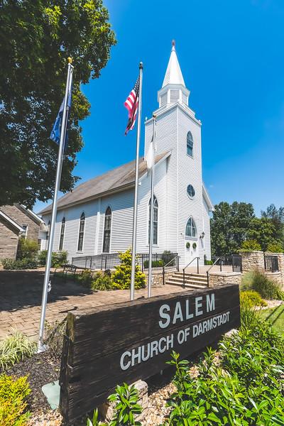 Salem Church of Darmstadt in Evansville Indiana