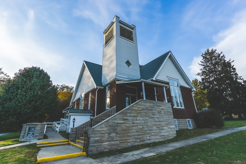 Merom United Methodist Church in Merom Indiana