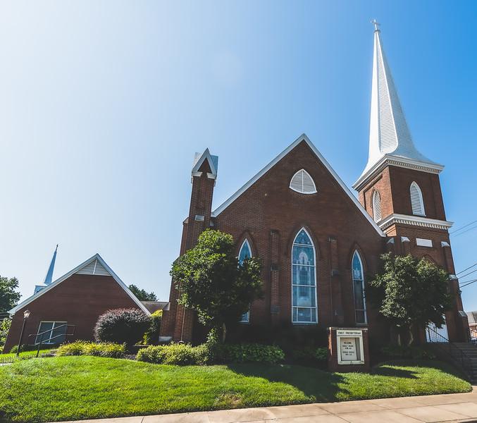 First Presbyterian Church in Mount Vernon Indiana