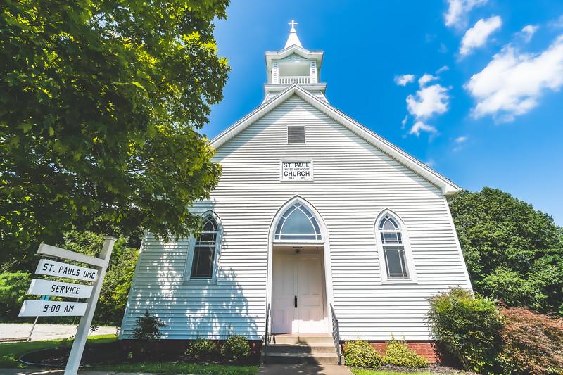 Saint Pauls Church in Evansville Indiana