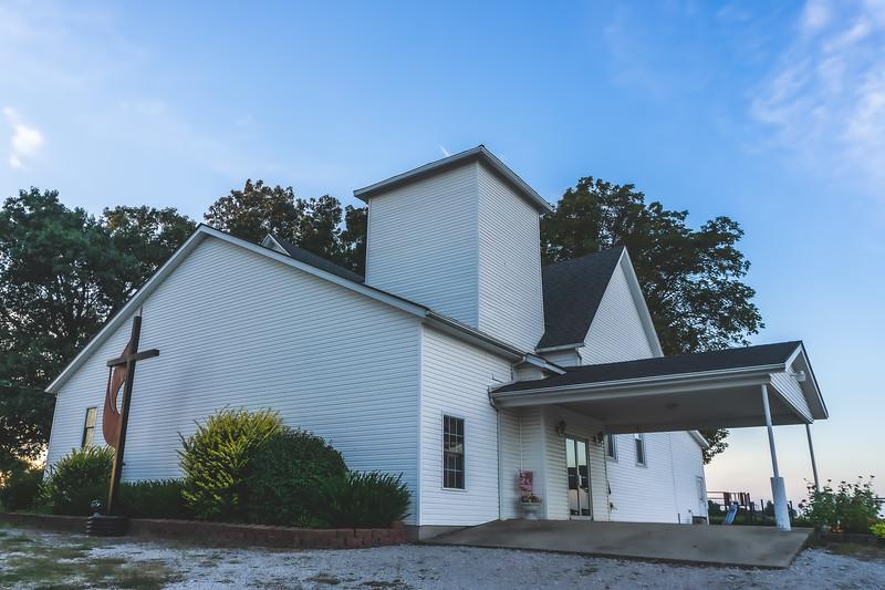 Ebenezer United Methodist Church in Shelburn Indiana