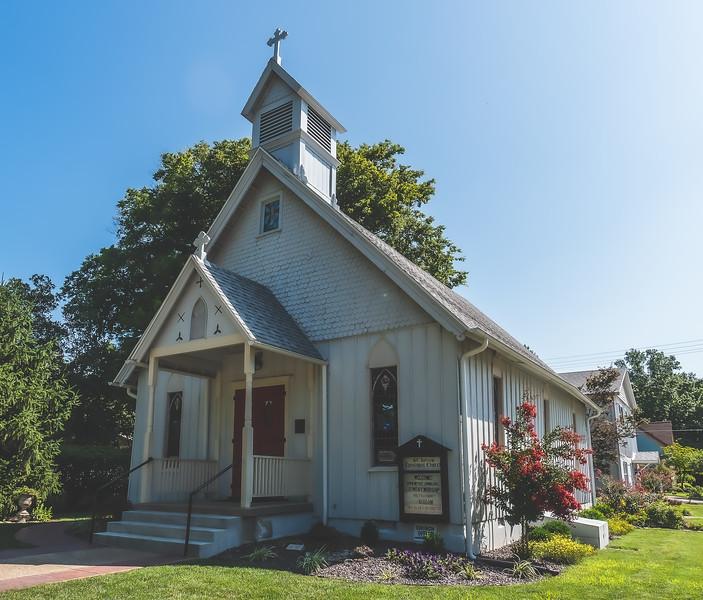 St. Johns Episcopal Church in Mount Vernon Indiana