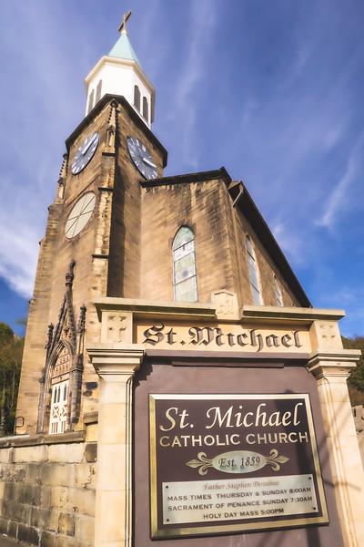 St. Michael Catholic Church in Cannelton Indiana