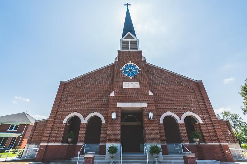 St. Philip Catholic Church in Mount Vernon Indiana