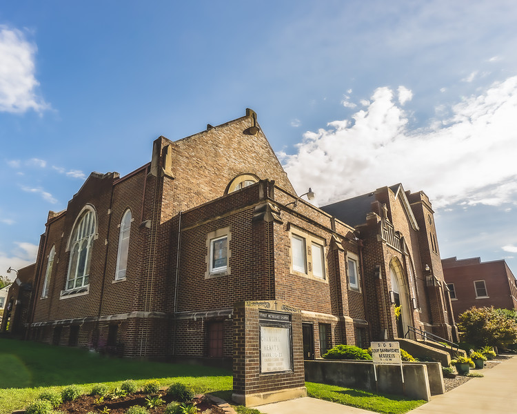 Bloomfield United Methodist Church in Bloomfield Indiana
