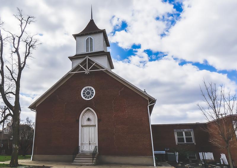 Salem Presbyterian Church in Salem Indiana