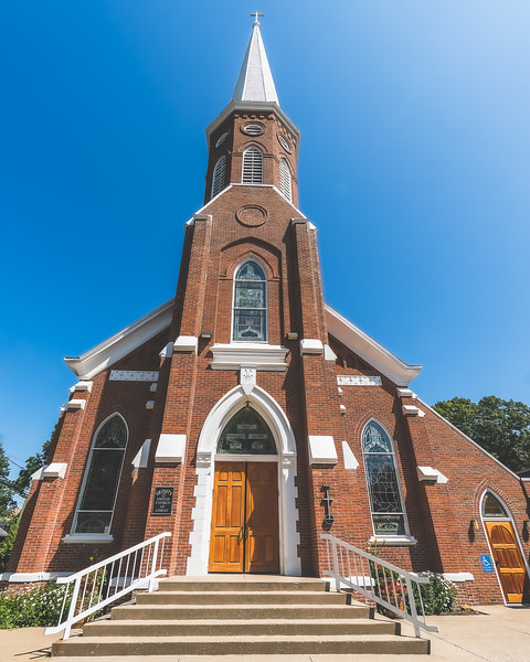 Trinity United Church of Christ in Mount Vernon Indiana