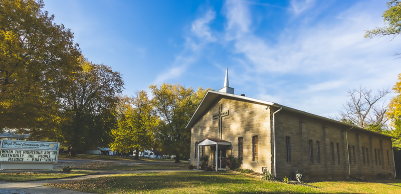 High Point Community Church in Merom Indiana